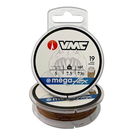 TRESSE A BAS DE LIGNE CANNELLE MEGAFLEX 736