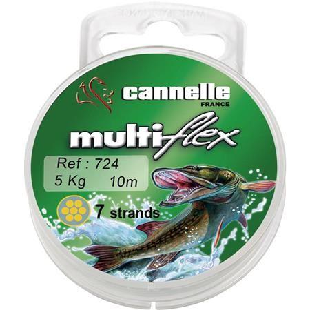 TRESSE A BAS DE LIGNE CANNELLE MULTIFLEX 724