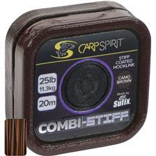 TRESSE A BAS DE LIGNE CARP SPIRIT COMBI STIFF BROWN - 20M