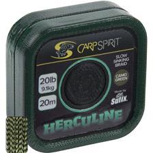 TRESSE A BAS DE LIGNE CARP SPIRIT HERCULINE GREEN - 20M