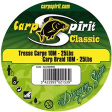 TRESSE A BAS DE LIGNE CARPE CARP SPIRIT CLASSIC