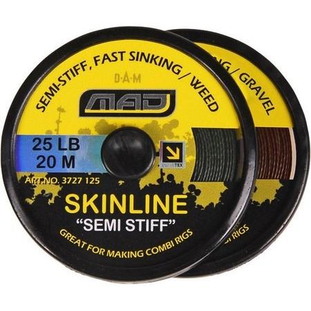 TRESSE A BAS DE LIGNE CARPE MAD SKINLINE SEMI-STIFF