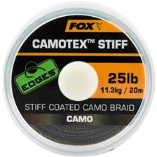 TRESSE A BAS DE LIGNE GAINEE FOX EDGES CAMOTEX STIFF CAMO - 20M