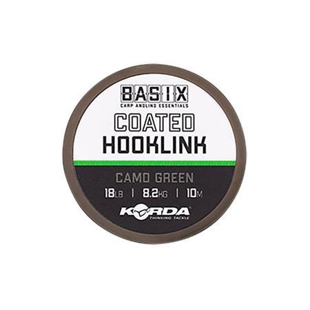 TRESSE À BAS DE LIGNE KORDA BASIX COATED HOOKLINK - 10M