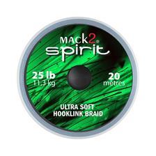 Tying Mack2 SPIRIT ULTRA SOFT HOOKLINK BRAID 20M 25LBS