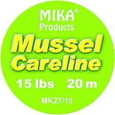 TRESSE A BAS DE LIGNE MIKA PRODUCTS MUSSEL CARE LINE - 20M