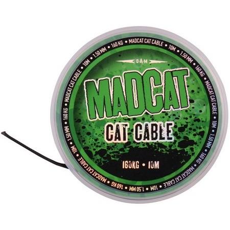 TRESSE A BAS DE LIGNE SILURE MADCAT CAT CABLE - 10M