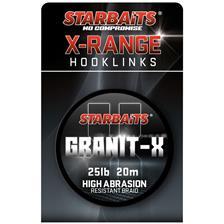 TRESSE A BAS DE LIGNE STARBAITS GRANIT X - 20M
