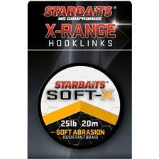TRESSE A BAS DE LIGNE STARBAITS SOFT X - 20M