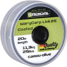 WARYCARP LINK COATED 20M 35LBS
