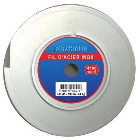TRESSE ACIER FLASHMER INOX - 150M