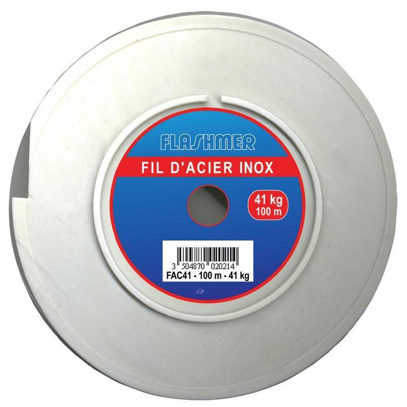 TRESSE ACIER FLASHMER INOX - 150M - 140/100