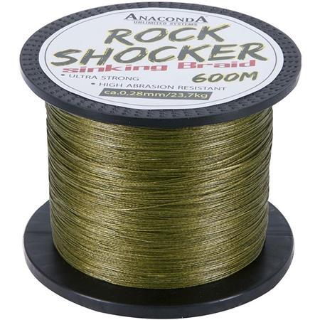 TRESSE ANACONDA ROCKSHOCKER SINKING BRAID - 600M