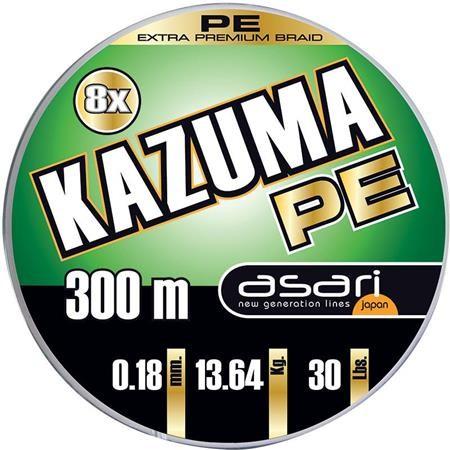 TRESSE ASARI KAZUMA 8X PE - 300M