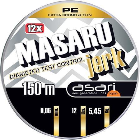TRESSE ASARI MASARU JERK - ARGENT - 150M