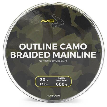 TRESSE AVID CARP OUTLINE CAMO - 600M
