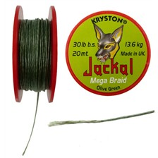 Tying Kryston JACKAL GRAVEL BROWN 20 LB