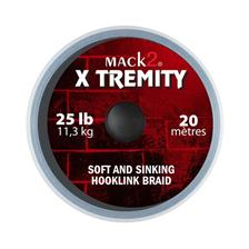 Tying Mack2 X TREMITY SOFT AND SINKING HOOKLINK BRAID 45LBS