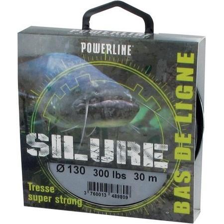 TRESSE BAS DE LIGNE POWERLINE SILURE