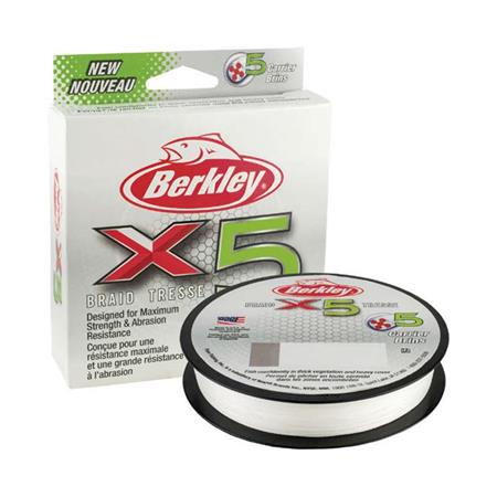 TRESSE BERKLEY X5 BRAID CRYSTAL - 150M - CRISTAL