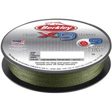TRESSE BERKLEY X9 BRAID LOW VIS VERT - 150M