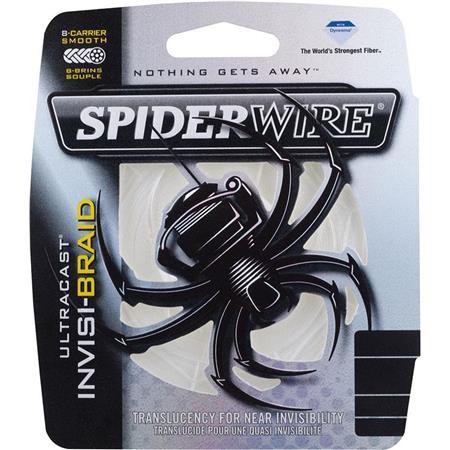 TRESSE CARNASSIER SPIDERWIRE ULTRACAST INVISI-BRAID 8 BRINS - 110M