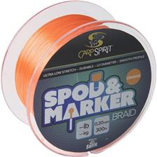 TRESSE CARP SPIRIT SPOD AND MARKER BRAID ORANGE - 300M