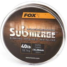 Lines Fox SUBMERGE SINKING BRAIDED MAINLINE 600M 20/100