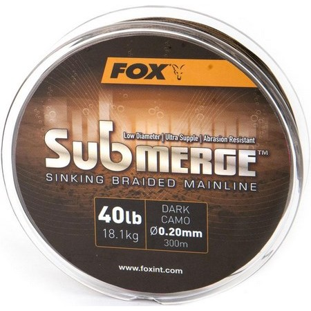TRESSE CARPE FOX SUBMERGE SINKING BRAIDED MAINLINE