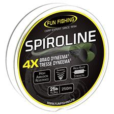 TRESSE CARPE FUN FISHING SPIROLINE - 250M