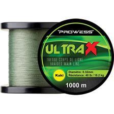 Lignes Prowess ULTRAX 1000M KAKI PRCLC4001 60LB KAK