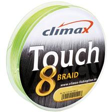Lines Climax TOUCH8 BRAID CHARTREUSE 300M 300M 20/100