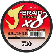 Lines Daiwa J BRAID GRAND X8 BLEU 270M 13/100