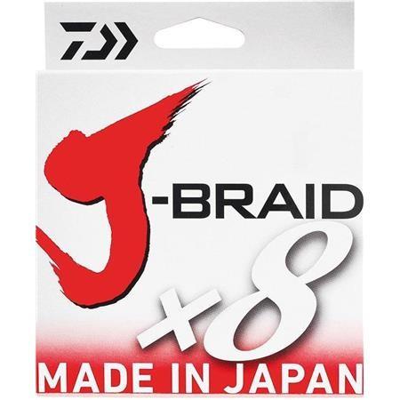 TRESSE DAIWA J BRAID X 8 VERT- 500M