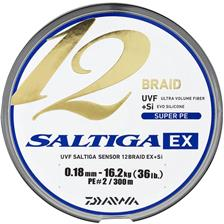 TRESSE DAIWA SALTIGA 12 BRAID EX MULTICOLOR - 600M