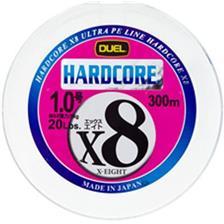 HARDCORE X8 MULTICOLORE 300M 33/100