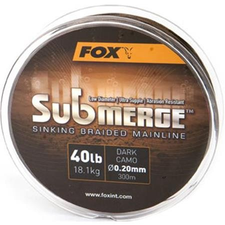 TRESSE FOX SUBMERGE CAMO SINKING BRAID