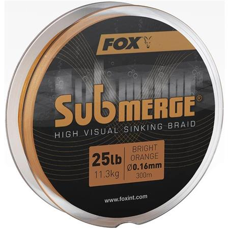 TRESSE FOX SUBMERGE HIGH VISUAL SINKING BRAID