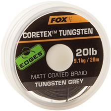 TRESSE GAINEE A BAS DE LIGNE CARPE FOX EDGES TUNGSTEN CORETEX