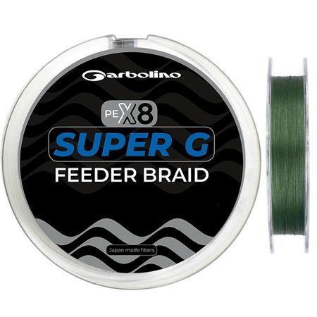 TRESSE GARBOLINO SUPER G FEEDER BRAID - 150M