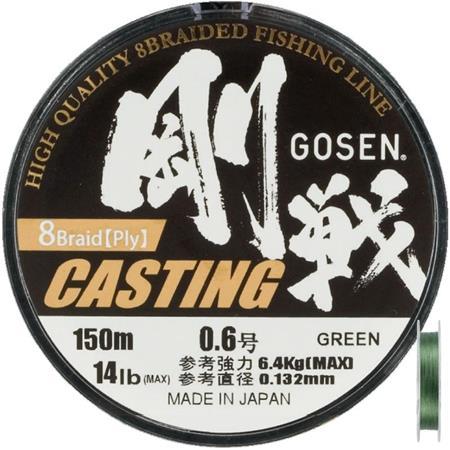 TRESSE GOSEN X8 BRAID ROSE - 150M