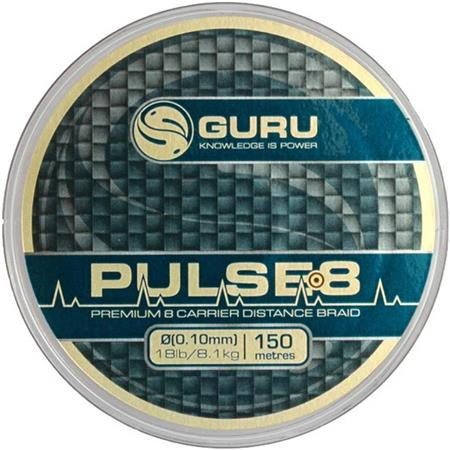 TRESSE GURU PULSE 8 BRAID - 150M