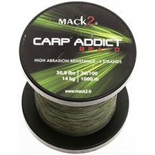 Lines Mack2 CARP ADDICT 4BRAID VERT 1000M 26/100