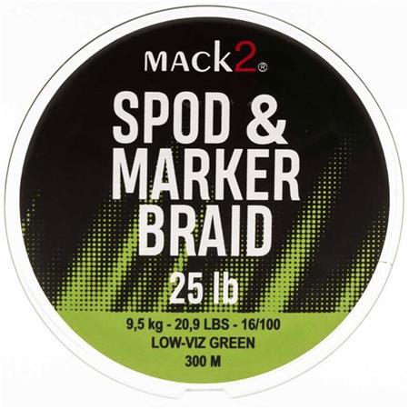 TRESSE MACK2 SPOD AND MARKER BRAID XLR - 300M