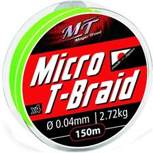 TRESSE MAGIC TROUT MICRO T-BRAID VERT - 150M - 5/100