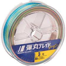 TRESSE MAJOR CRAFT DANGAN BRAID X8 MULTICOLORE - 300M