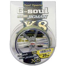 Lines YGK WX8 R SP G SOUL SUPER JIGMAN D661 300M REALSPSJID6612