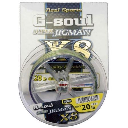 TRESSE MER YGK WX8 R SP G SOUL SUPER JIGMAN D661 - 300M