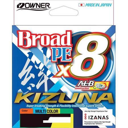 TRESSE OWNER KIZUNA X8 - MULTICOLORE - 135M