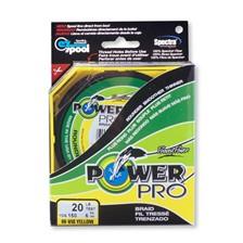 Power Pro  TRESSE JAUNE 135m 4kg